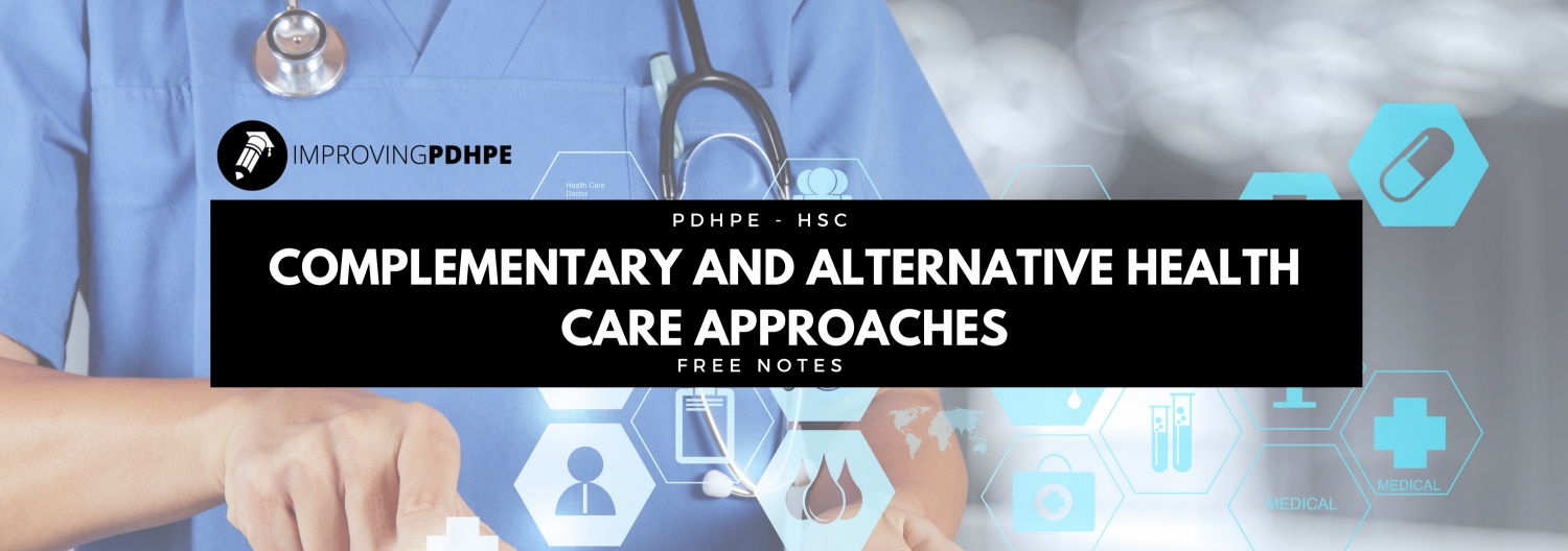 Complementary and Alternative Health Care Approaches
