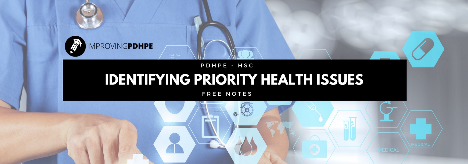 Identifying Priority Health Issues